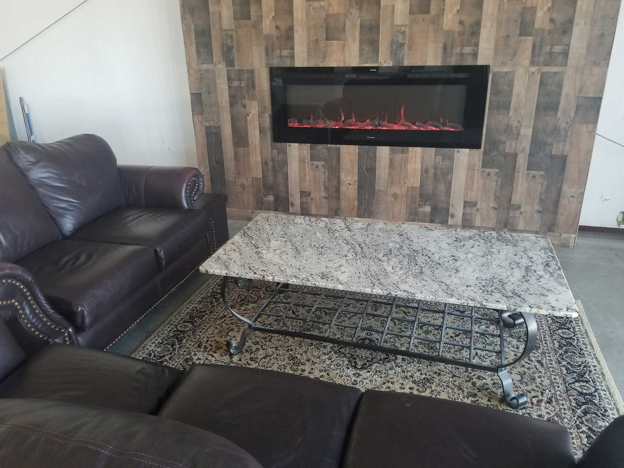 Our lounge area for our customers